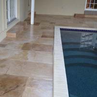 Natural Looking Concrete Pool Deck