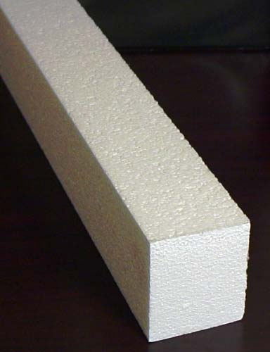 Concrete Counter-top Foam Rails