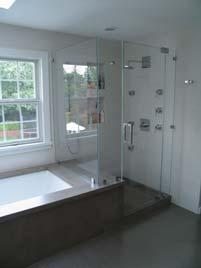 GFRC Shower Concrete Bathroom Makeover