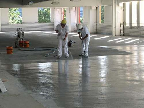 Parking Garage Concrete Restoration
