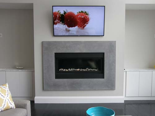 Concrete GFRC Fireplace Surround