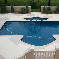 Concrete Pool Deck Gets Updated
