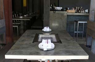 Concrete Gray Restaurant Bar Top
