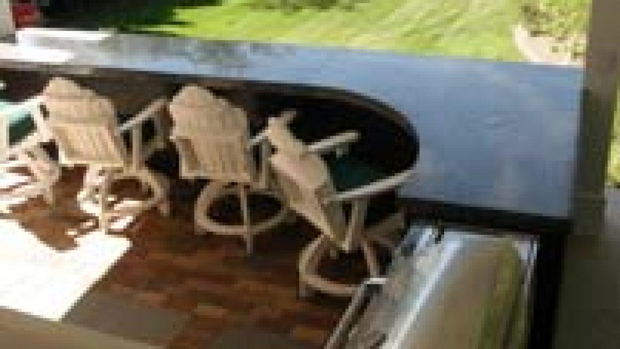 Custom Terrazzo Countertop For Outdoor Kitchen Indiana