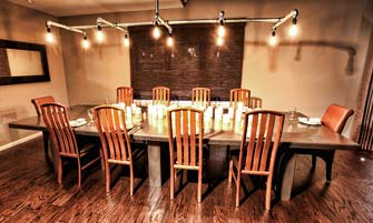 GFRC Gray Concrete Dining Table