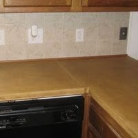 Success for First–Time Concrete Countertop Fabrication – North Carolina