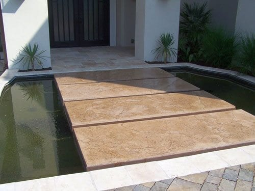 Floating Beige Floating GFRC Stones
