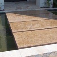 Making a Serene Entrance Over Floating GFRC Stones at North Carolina Estate