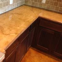 Concrete Installer Discovers Concrete Countertops