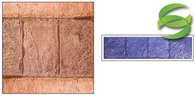 12x12 Belgium Slate Tile Band Tool