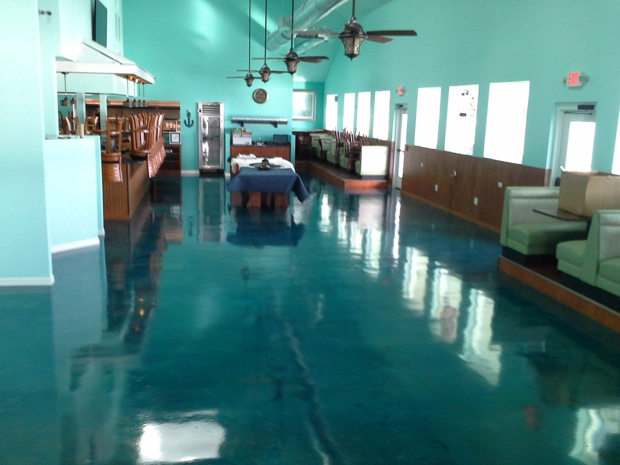 High Performance Restaurant Floor Coatings