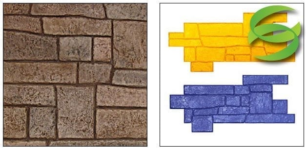 Appian Cobble Stone Stamp Mat