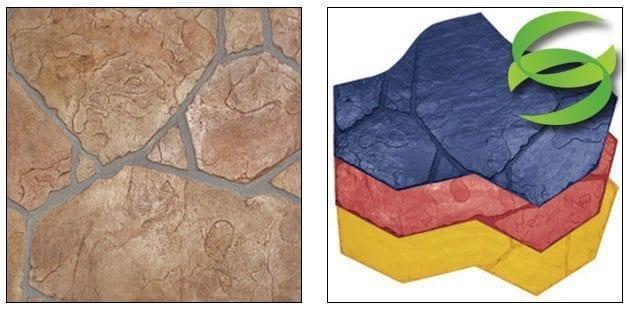 Arizona Flagstone A Concrete Stamping Mats