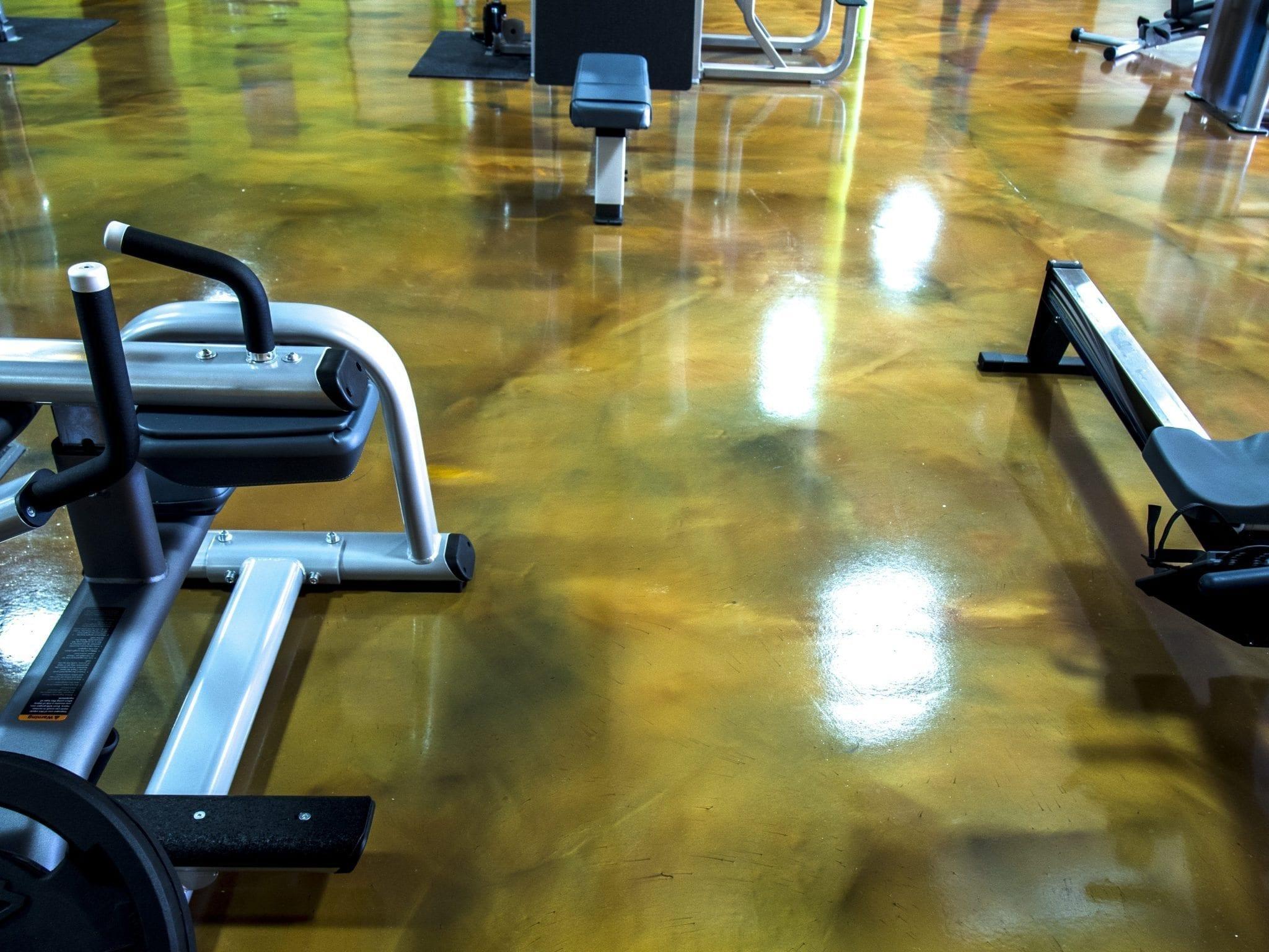 Epoxy Metallic Floor System
