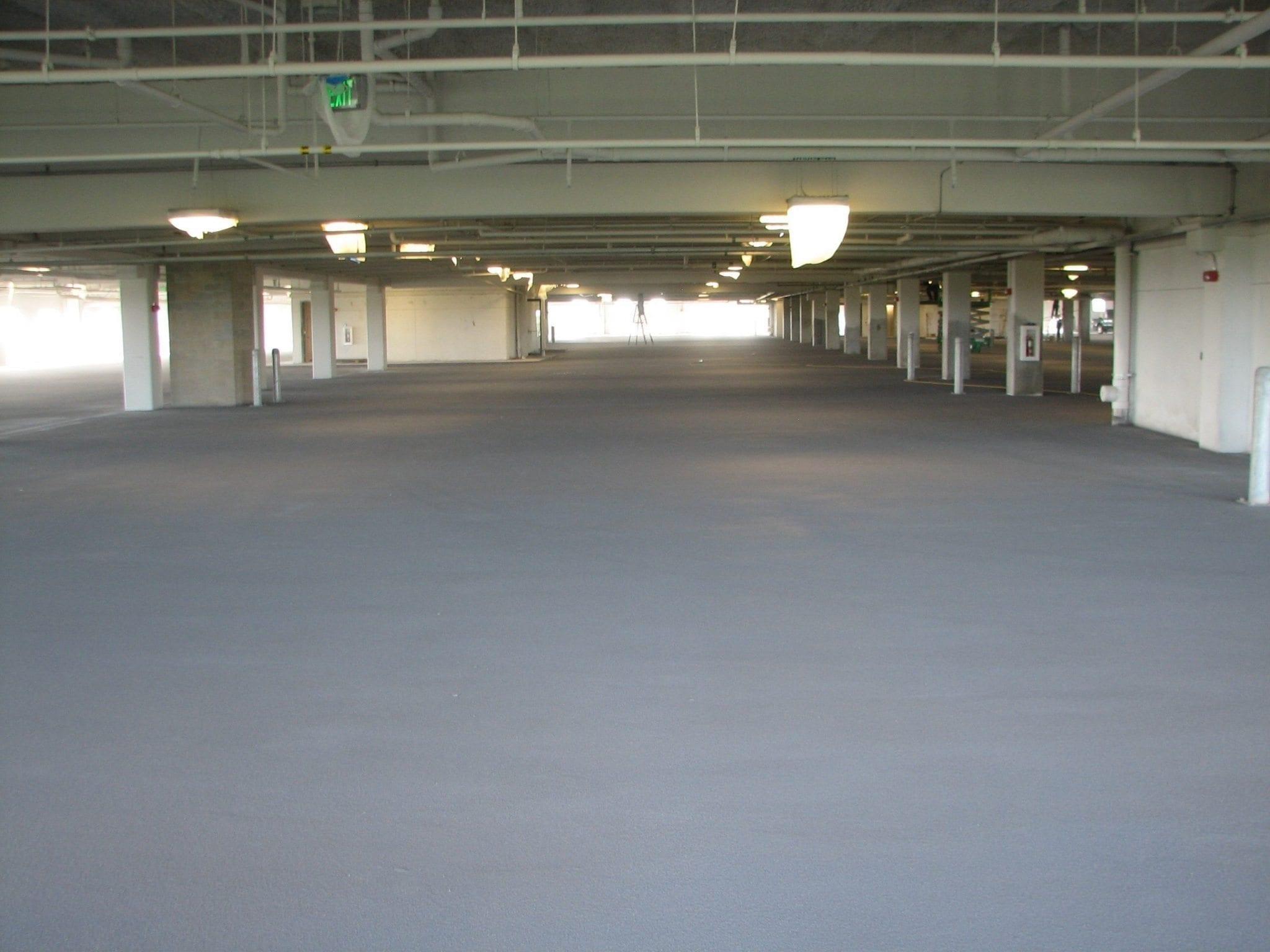 Parking Garage Restoration Coatings