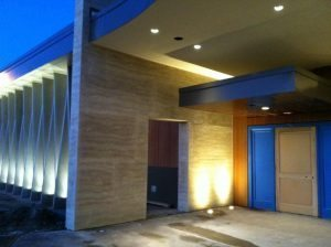 Large Commercial Wall Panels for a Commercial Building Entry