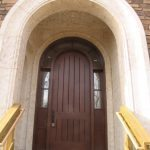 Large Architectural Accent Doorway Made From Concrete GFRC