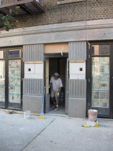 Tilt Up GFRC Wall Panels for Commercial Entrance