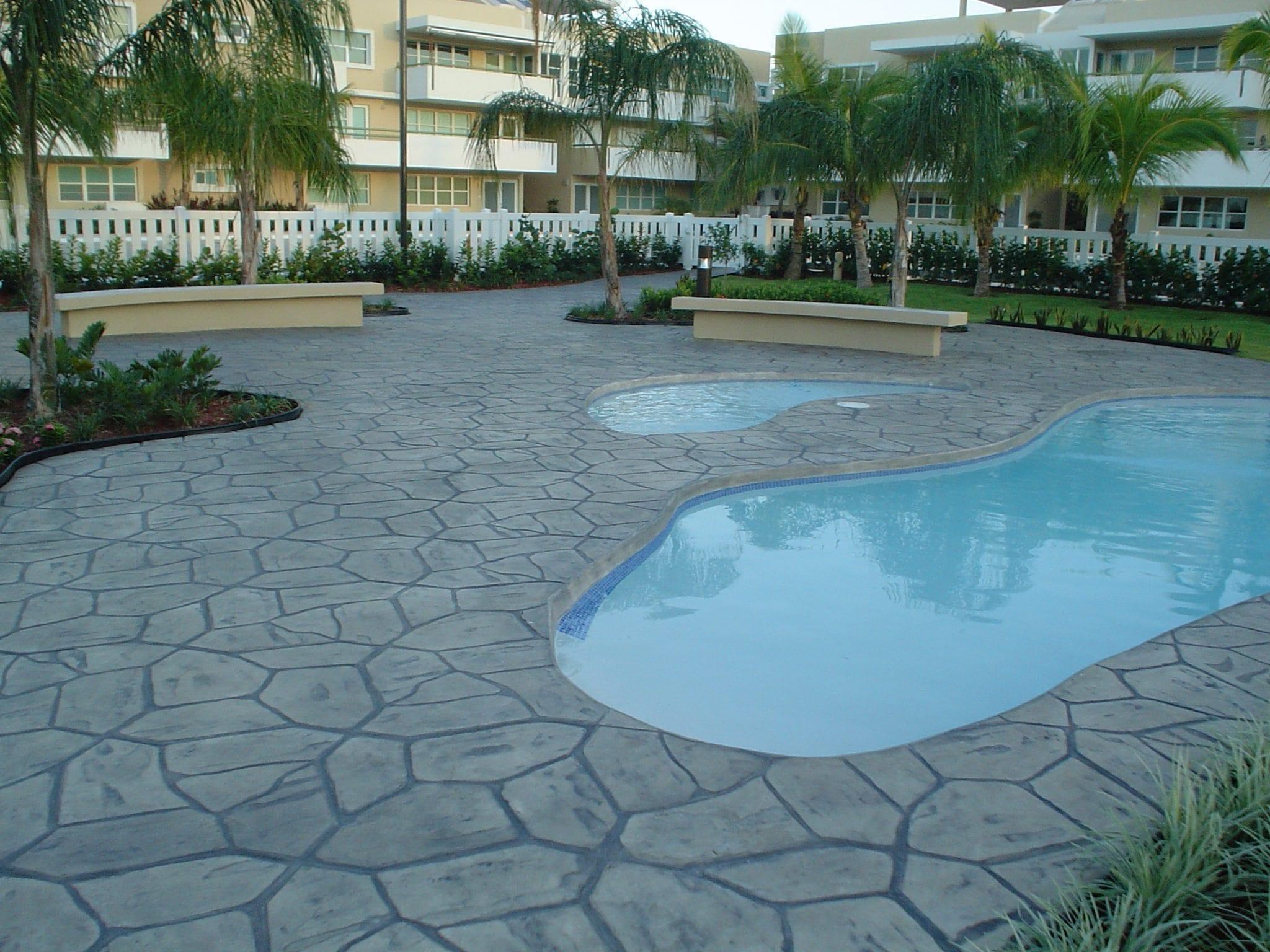 Decorative Concrete Pool Restoration Products