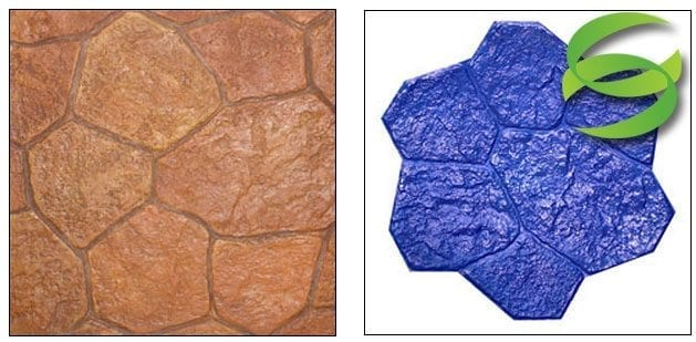 Random Canyon Stone Concrete Stamping Mats