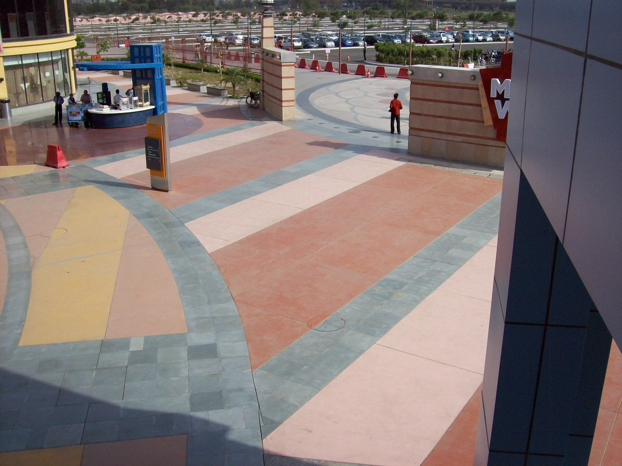 High Traffic Theme Park Concrete Coatings