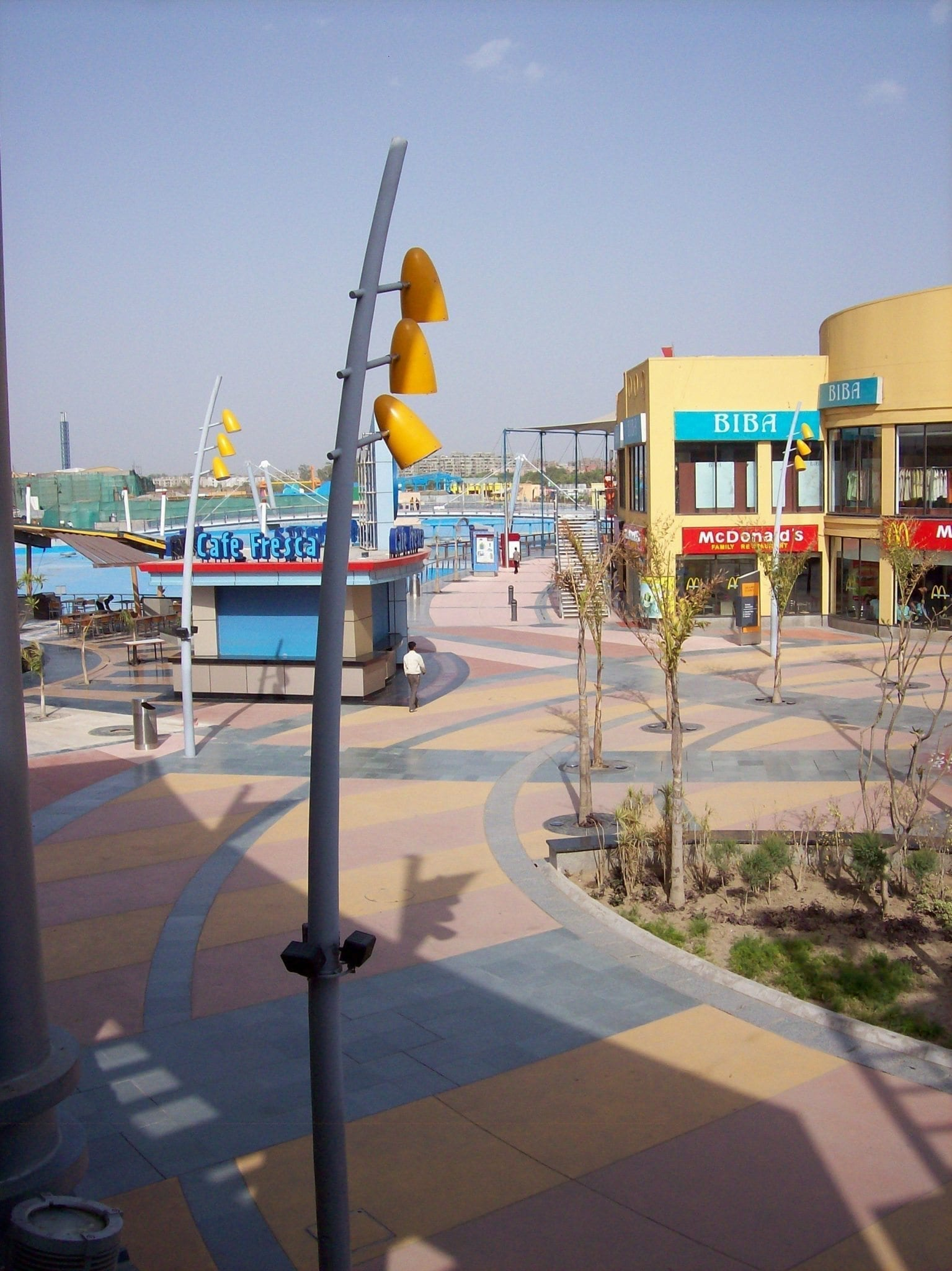 Theme Park Decorative Concrete Restoration