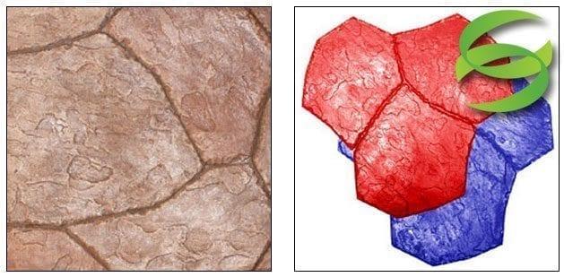 Santa Fe Stone Large Concrete Stamping Mats