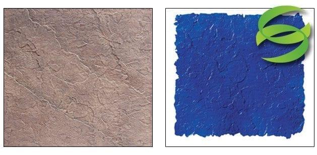 Seamless Belgium Slate Concrete Stamping Skin