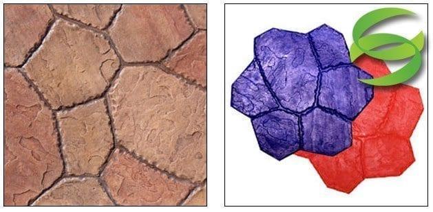 Sedona Stone Concrete Stamping Mats