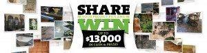Surecrete Share to Win Contest June 2015