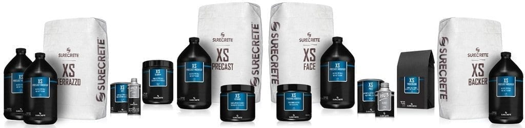 SureCrete Xtreme Series (XS) Product Line-Up