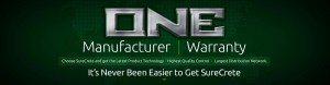 Surecrete Products Main Banner