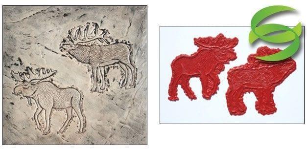 Wildlife Series Set of Moose and Elk