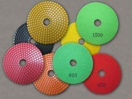 Concrete Sanding and Polishing Pads