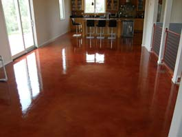 Interior Exterior Clear Concrete Sealer Colored Concrete