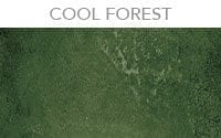 semi transparent concrete stain color cool forest green