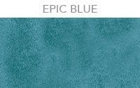 epic blue transparent cement color