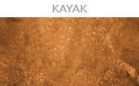 kayak transparent concrete accent stain