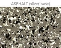 epoxy floor flake asphalt