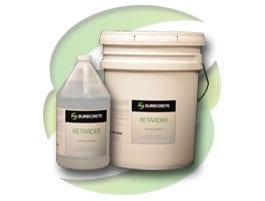 Liquid Concrete Retarder for Slowing Curing
