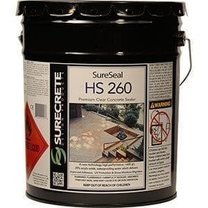hs-260 High Gloss Clear Concrete Sealer