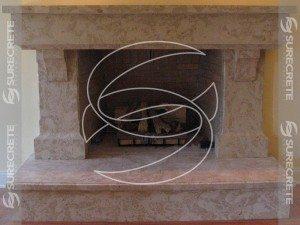 Concrete Precast Fireplace