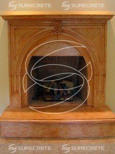 Precast Fireplace