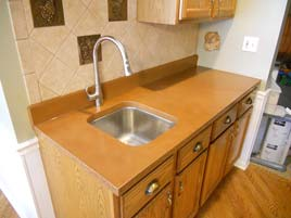 Brown Concrete Countertop pccv-68