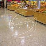 Grocery Store Commercial Epoxy Flak floor