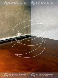 Metallic High Gloss Metallic Floor