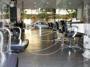 Commercial Concrete Floor Gray Coating