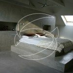 Modern Concrete Bedroom Design
