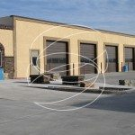 Commercial Garage Decorative Concrete Wall Coating