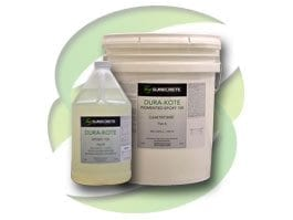 Clear Epoxy 100 Solids Clear Concrete Floor Sealer